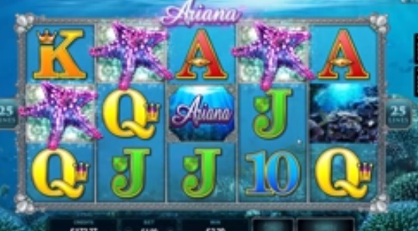 Ariana Slot Screenshot