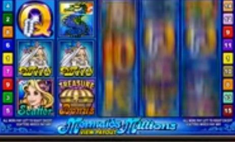 Mermaids Millions slot bild