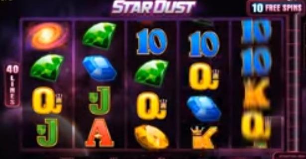 Stardust slot screenshot