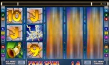 Thunderstruck 1 Slot Screenshot