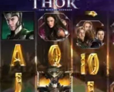 Spela Thor videoslot